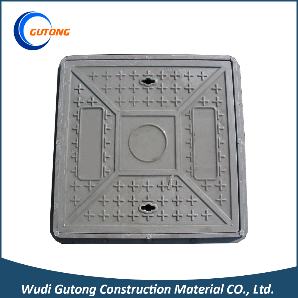 OEM Drawing Drainage FRP EN124 D400 Manhole Cover