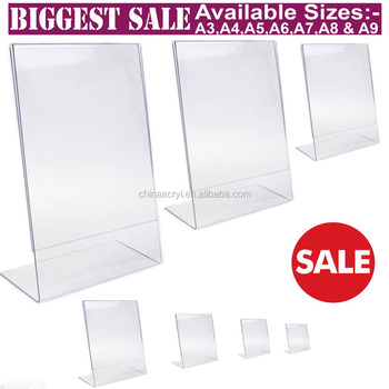 A4 Acrylic Poster Holder