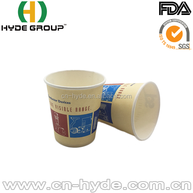 China best paper cup supplier hot/cold/double/ripple/PLA import paper cup