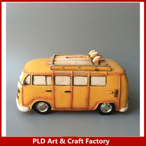 New design Antique bus shape coin bank
