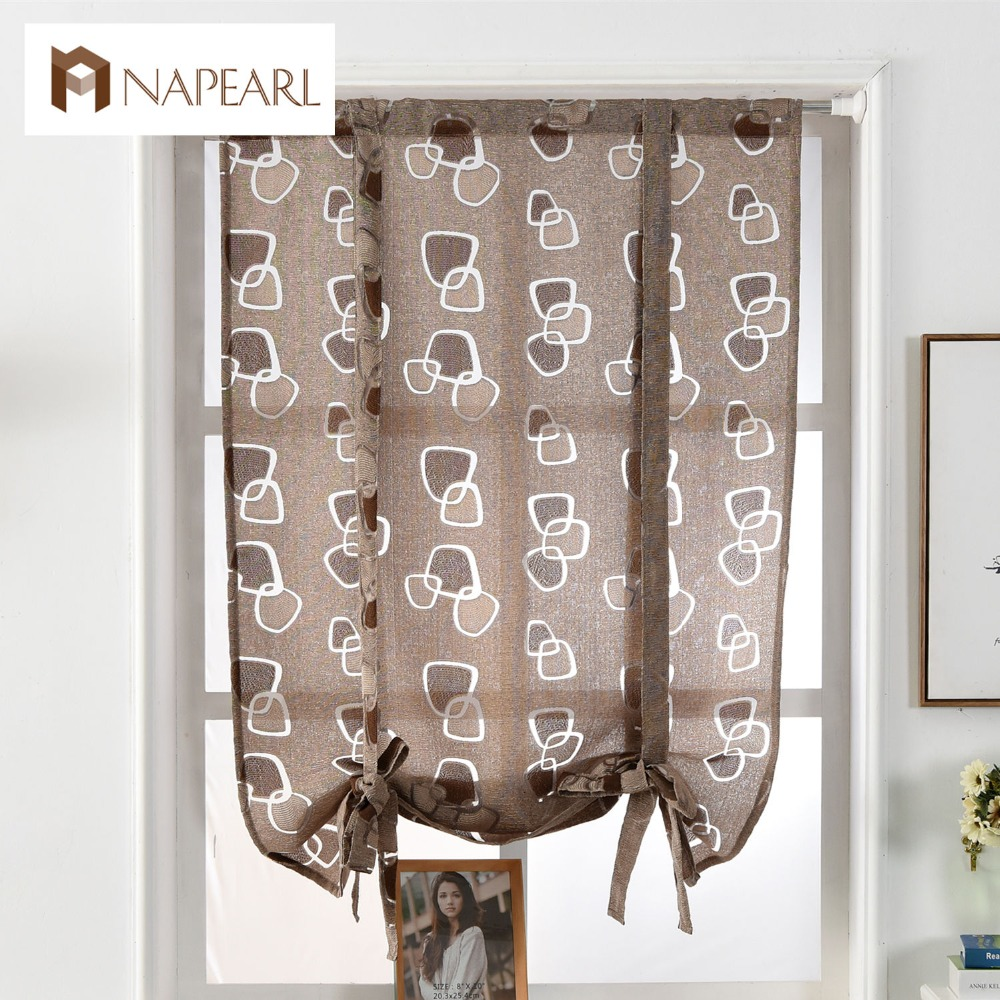 Venta al por mayor cortinas de tela estilo romana-Compre online los ...