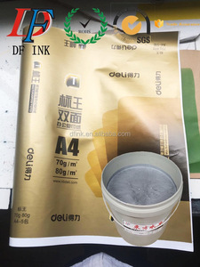 high quality water based golden silver printing ink