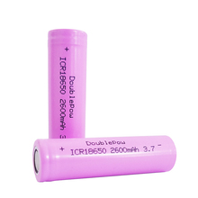 OEM flat 3.7V icr 2600mah rechargeable 18650 lithium battery for hoverboard