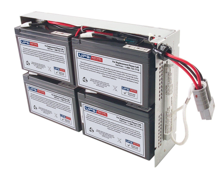 APC Smart-UPS 1500 Rack Mount 2U SUA1500RM2U Compatible Replacement Battery Pack by UPSBatteryCenter