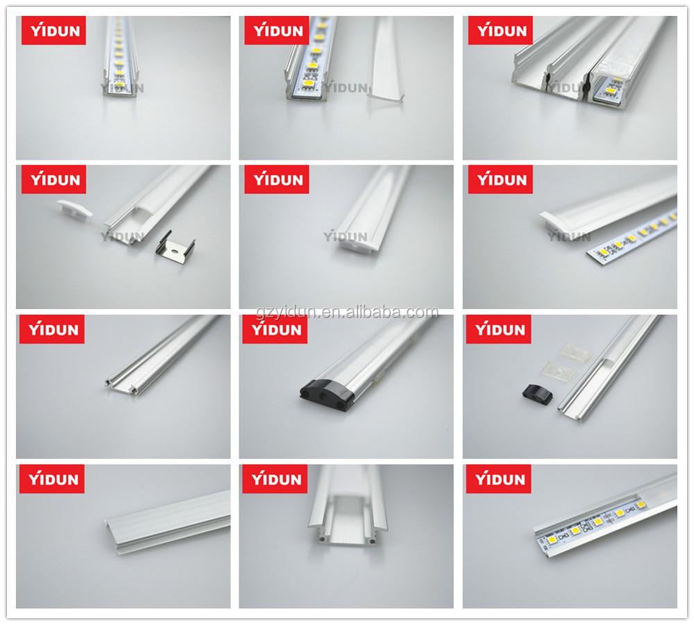 Aluminum led strip lights profilechannel trackhousingmounting aluminum led strip lights profilechannel trackhousingmounting profileshapes aloadofball Choice Image