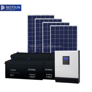 Complete with battery and brackets 4000w complete home solar power system