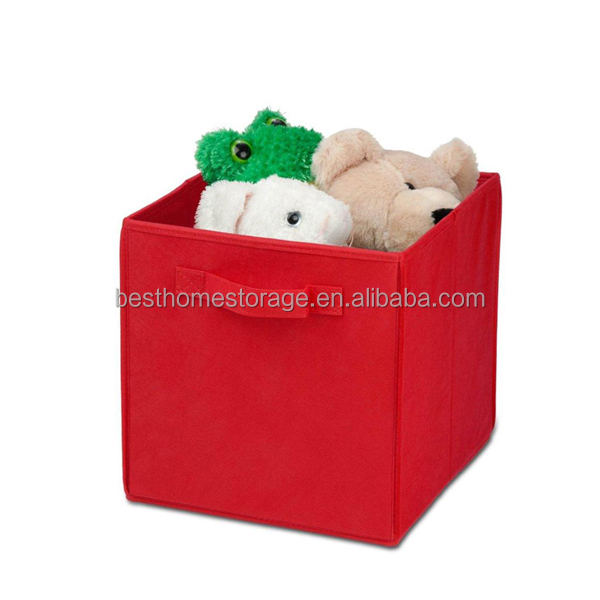 Nonwoven fabric decorative cardboard drawer cube storage box storage box organizer