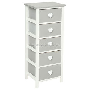 Rustic Heart Bow Medium Storage Unit