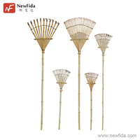 All Kinds of Dimension Chinese Manufacture Garden Tool Bamboo Leaf Rake