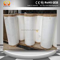 BOPP heat sealable white pearlized film for Hotel disposable soap packing