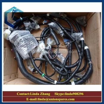 genuine pclc pc external wiring harness excavator cabin genuine pc300lc pc300 6 external wiring harness excavator cabin main electric cable wire harness assy