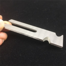 Wearing hook fixed cutter blade for knife and machine