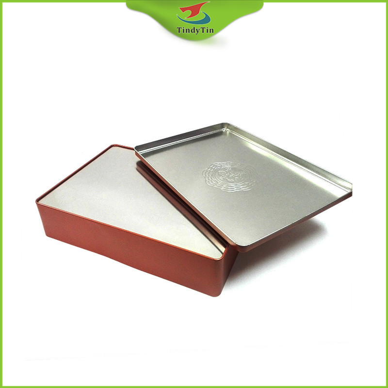Custom Empty Airtight Aluminium Tea Can Container Wholesale Top Quality Full Color Printed Metal Square Tea Tins