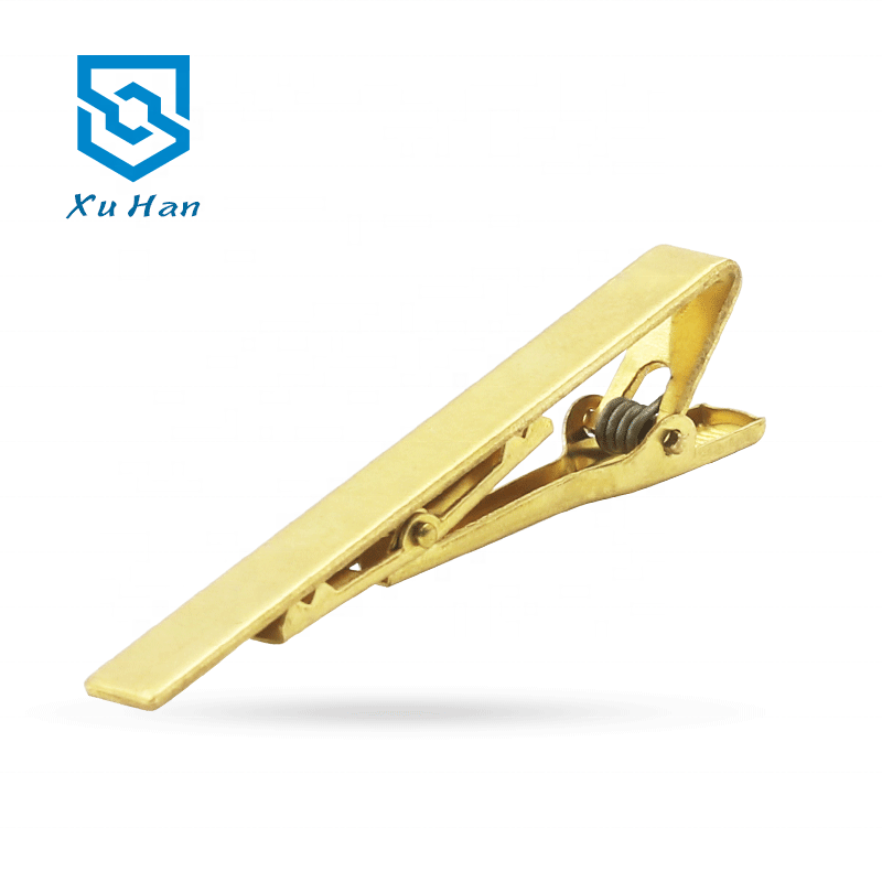 Factory direct sale, metal environmental protection copper Blank tie clip for making fashion tie clip фото