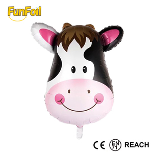 Wholesale Guangzhou NEW Design Mini Size walking Animal Head shape Foil helium Balloons For Party Decoration