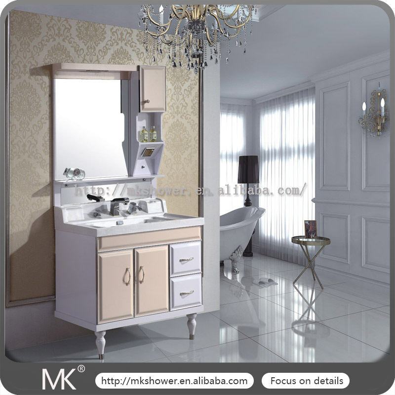 China supplier anti-carved custom polyresin bathroom cabinet