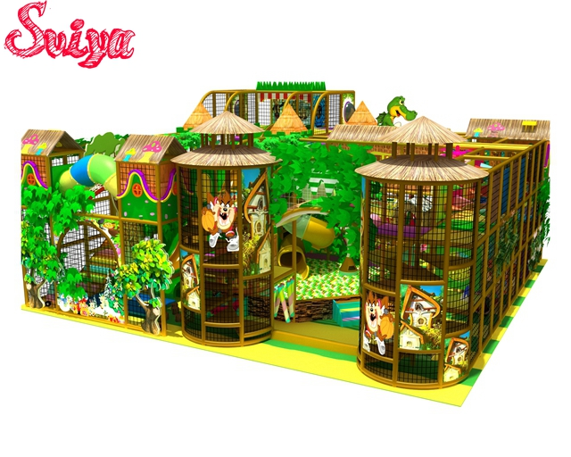 Newest Design Various themes big indoor playground