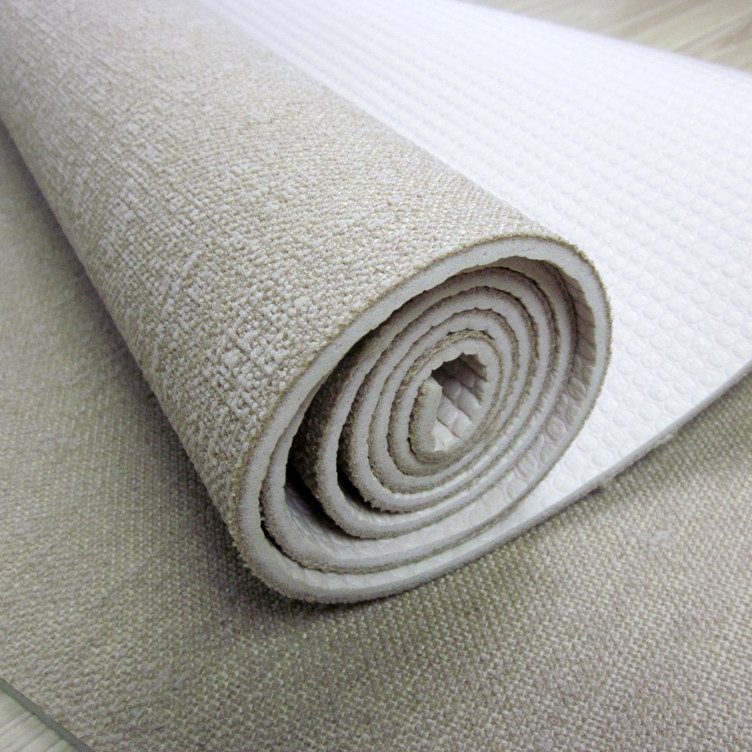 Alibaba best selling 5mm custom made india jute yoga mats manufacturer