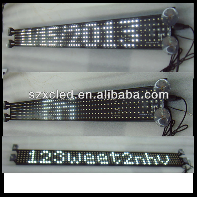 Hot and new! P14-6*64 LED car sign