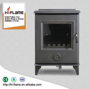 HiFlame PRECISION 4.9KW Indoor Small Free-standing Prity Wood Burning Stove for Home Heating HF905