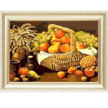 Natürmort Numaralarına Göre Taze Meyve Sepeti Menglei Boyama Buy