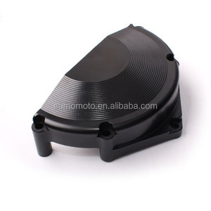 Motorcycle aluminium engine case cover
