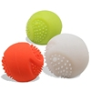 Interactive Dog Toys Set, 2 Pcs Tooth Cleaning Rubber Dog Balls for Pet Playing/Training/Chewing