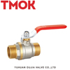 Best selling MXM Long handle Nickel plating Brass Ball Valve