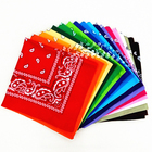 Hot Sales Multipurpose Paisley Bandana, Printed Square Bandana