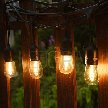 Globe String Lights With S14 G40 G45 Clear Milky Rgb Led Bulbs,Pathway  Light Led Vintage Patio Globe String Lights   Buy Globe String  Lights,String ...