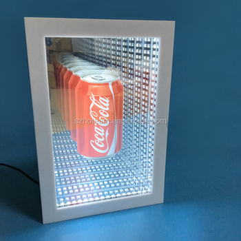Led Infinity Illusion Mirror Display
