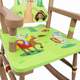 good wooden furniture kid chair rocking chair for baby EN71