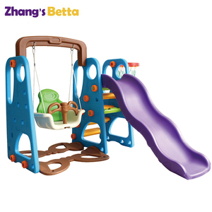 Plastic slide for kids indoor small slide children's plastics sliding toys blowing
