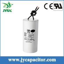70UF 450V CBB60 taizhou water pump motor run capacitor with 2wire