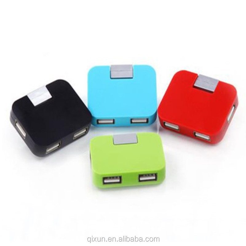 promotional gift cheap wholesale price custom logo mini usb 2.0 4-port hub driver, usb hub
