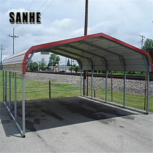 Light steel structure pipe for car parking shed tent