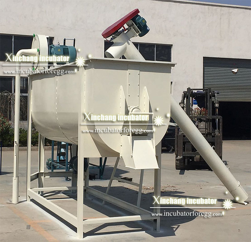 hammer mill and mixer