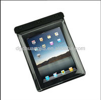 custom cover case pvc water proof case for ipad with string