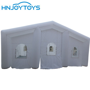 durable oxford nylon inflatable wedding tent, portable booth for advertising and party use outdoor