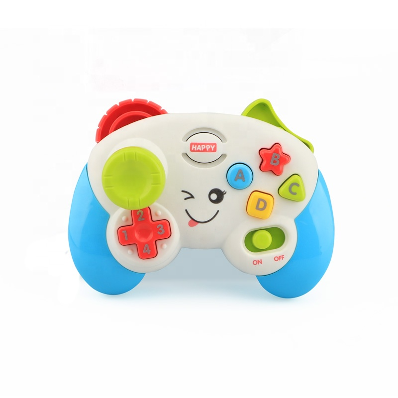 Battery operated baby controller musical toy with light and music