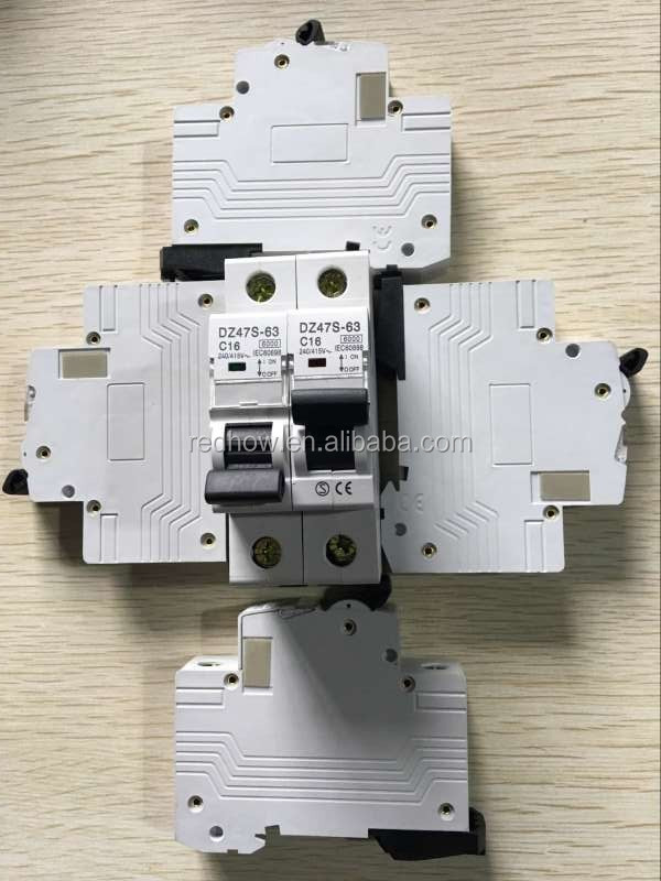 (High) 저 (quality 새 형 DZ47-60 2 극 C6A 전자 미니어처 회로 차단기 price