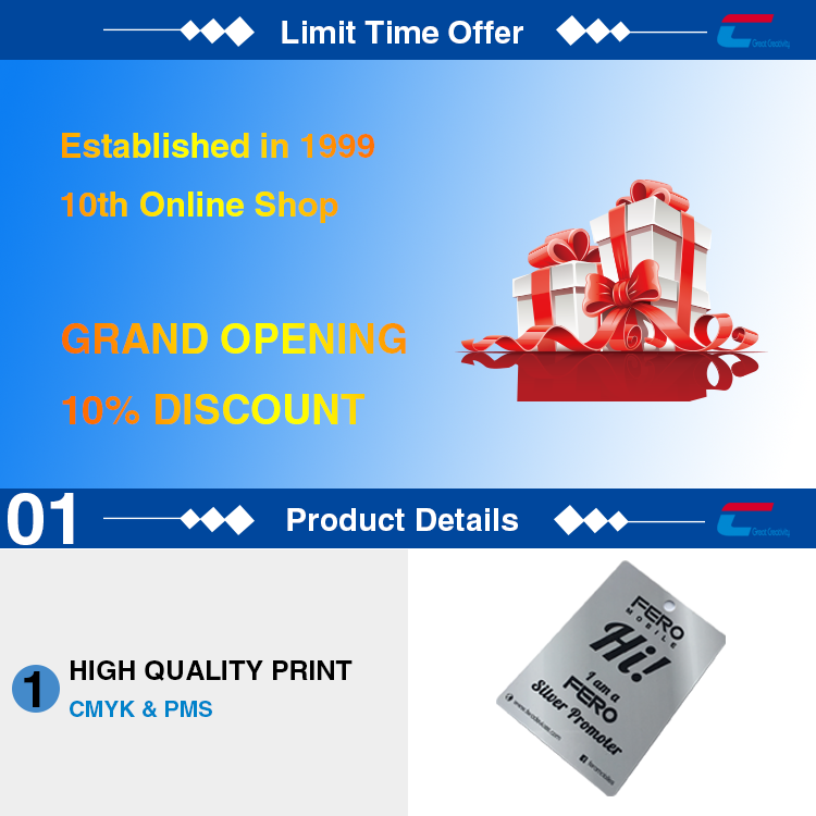 Promotion price custom size plastic hole punched printing die cut pvc card
