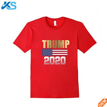 Hot selling made in China fashion Election Campaign t shirt men's 100%cotton printed t-shirt