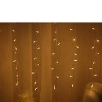 Beautiful christmas party waterfall decoration led curtain lights