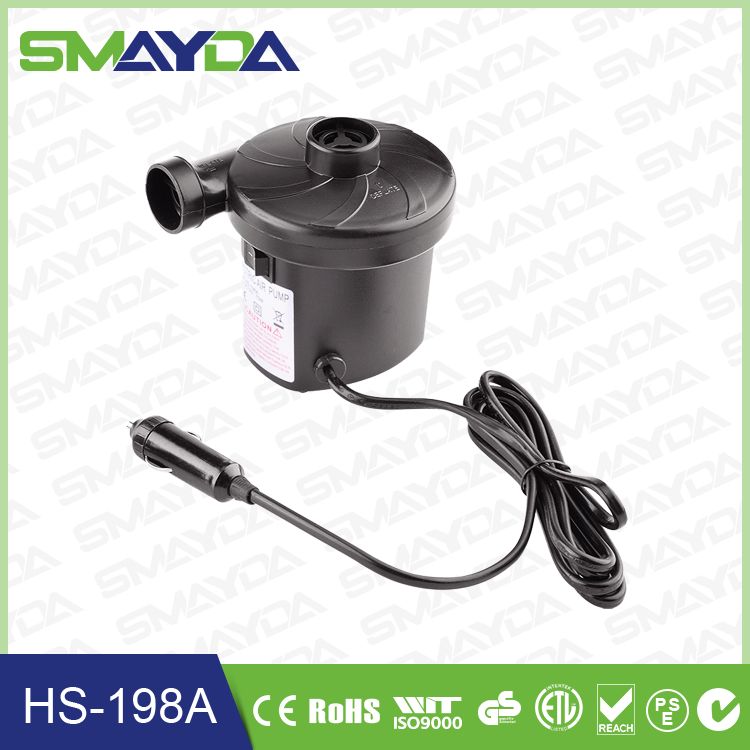 2016 china supply DC 12V electric air pump mini air pump for car use only