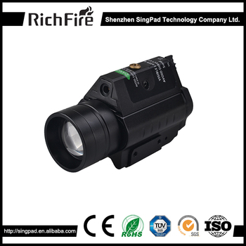Military waterproof aluminum green laser sight tactical amy light for rifle