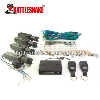 Positive And Negative Trigger Selection Remote Central Lock For Car