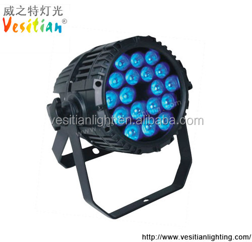 beats.by dr.dre stage lighting Wash led par can light Outdoor waterproof 10w led par 64 rgbw 18