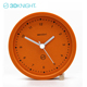 3DKnight beautiful orange real table concrete clock for office Dongguan manufacturing supplier