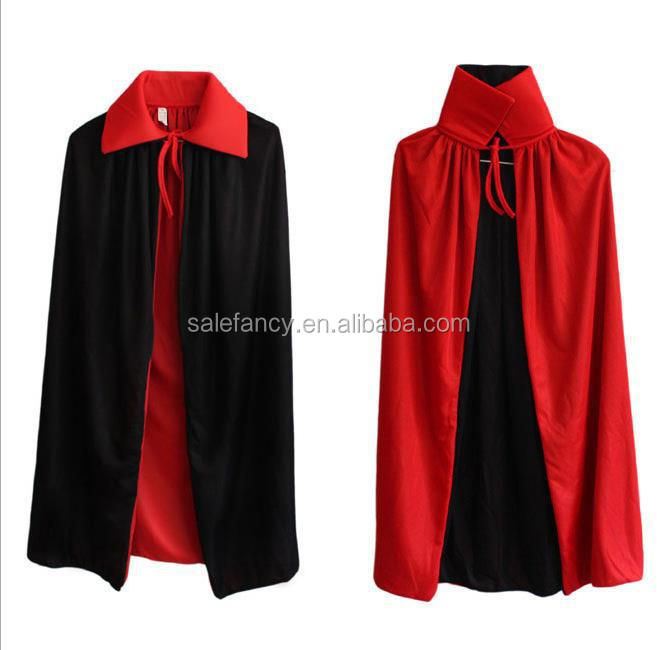 High quality kids fancy dress vampire cloak costume QBC-6530